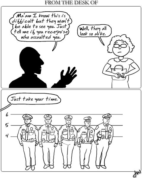 police-lineup